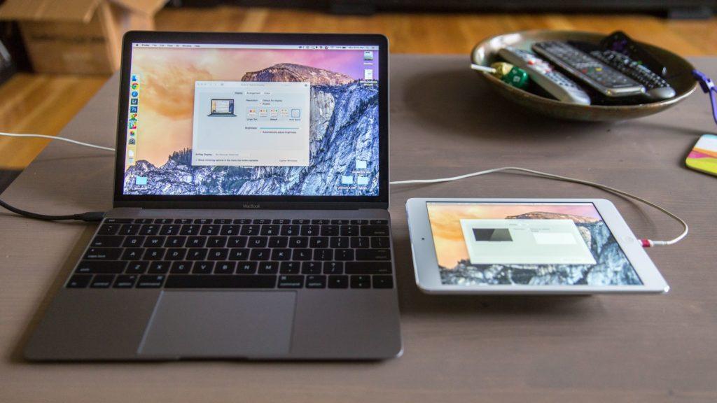 Mac Screen with Duet Display