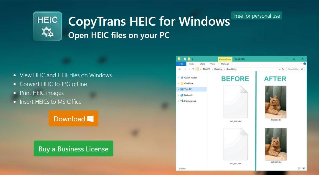 download CopyTrans (application) HEIC