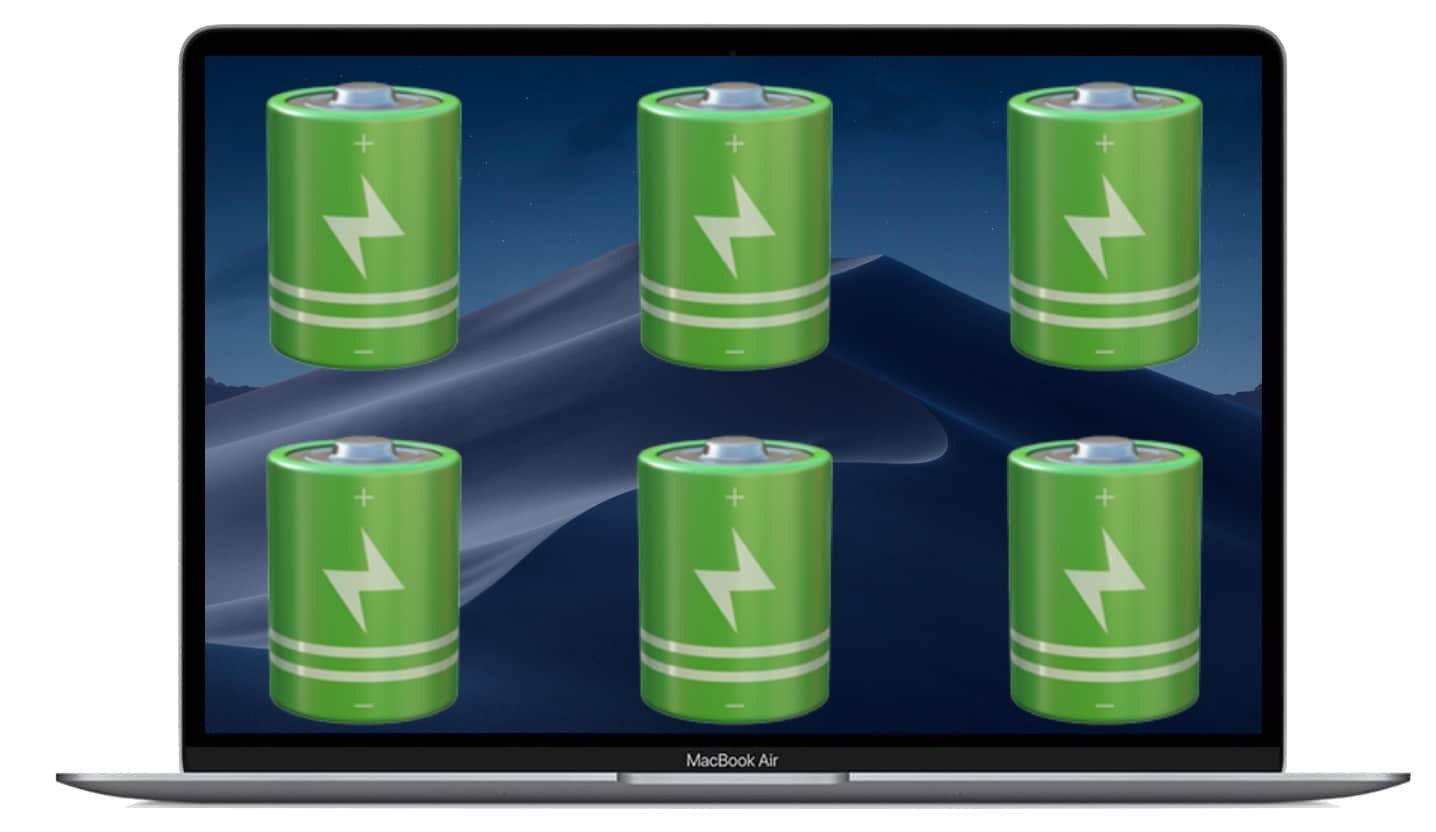 macOS Mojave Battery Problems
