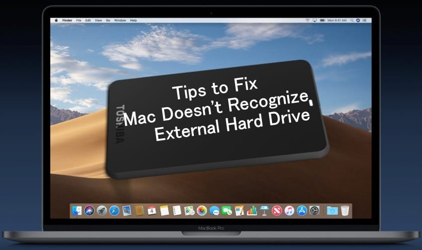 macOS Mojave Won't Install from an External Drive