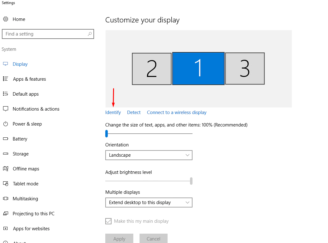 How To Change Primary Monitor on Windows 10   GetWox