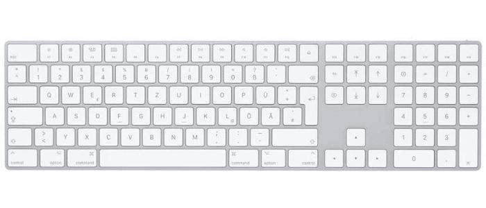 8- Apple Magic Keyboard