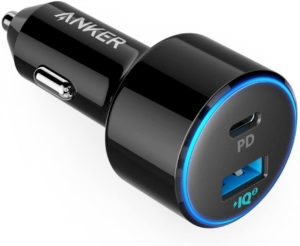 Anker USB C Car Charger MacBook Accessory