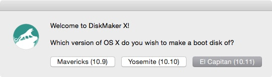Creating a Bootable USB Using DiskMaker X