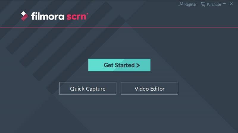 Filmora Scrn Screen recording software