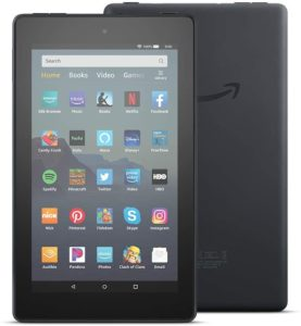 Fire 7 tablet for reading