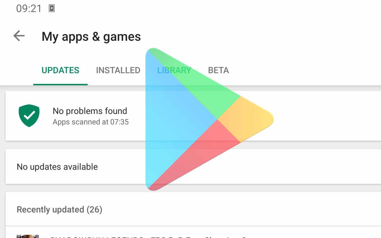 More Power to Updates Gathered Through the Google Play Store