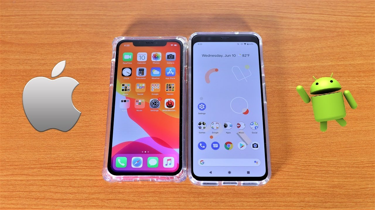 iOS 14 vs Android