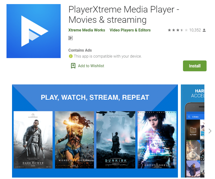 PLayer Extreme
