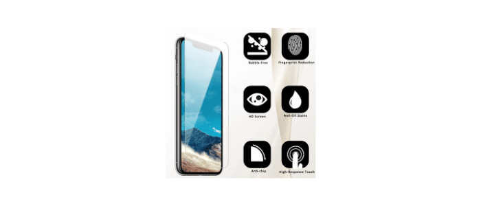 QUESPLE Tempered Glass Protector1