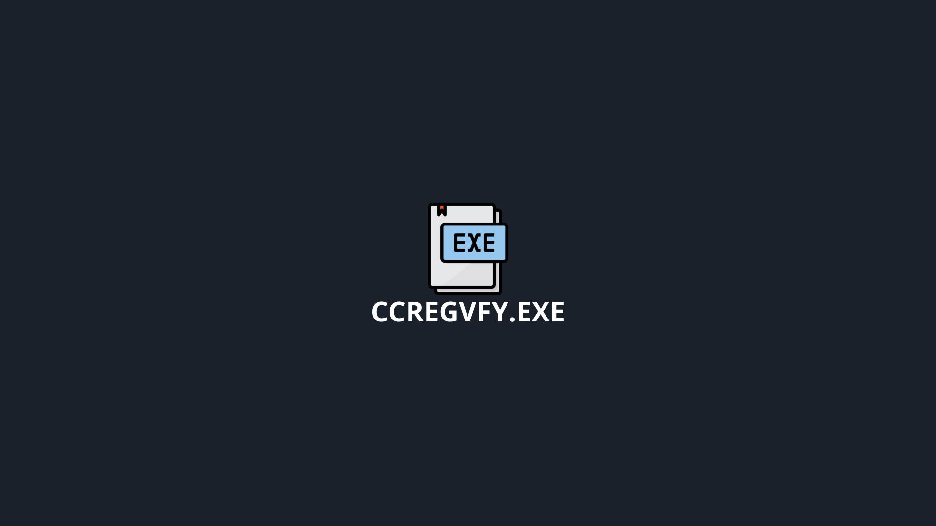 ccRegVfy.exe