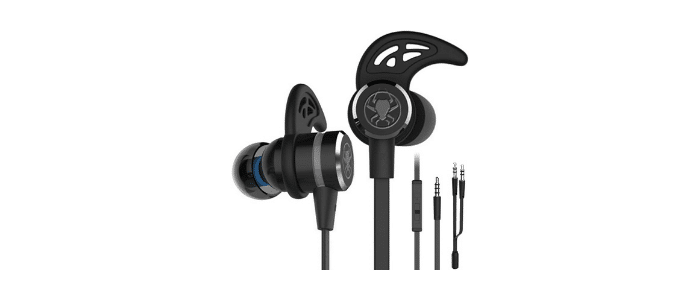 Keku Wired Noise Cancelling Gaming Earbuds with  Mic