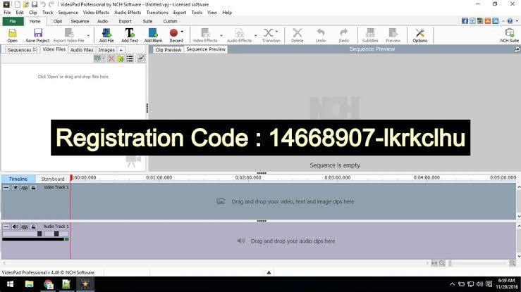 VideoPad Registration Codes